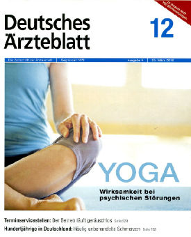 Deutsches Ärzteblatt – Yoga